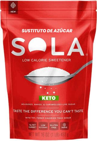 azúcar keto de SOLA